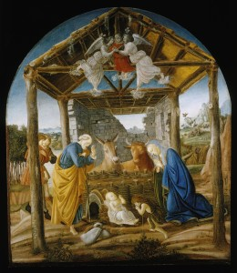 Nativity Boticelli